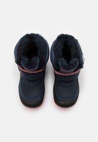 Kappa - LAMA TEX UNISEX - Winter boots - navy/coral - 3
