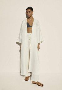 Massimo Dutti - Summer jacket - white - 0