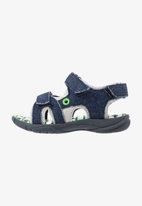 Walnut - BOUNCE - Walking sandals - dark blue - 1