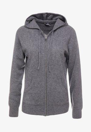 HOODIE - Cardigan - dark grey
