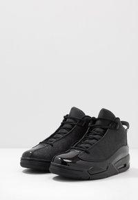 Jordan - AIR DUB  - Korkeavartiset tennarit - black