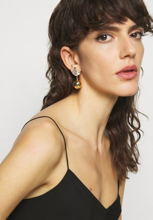 OMEGA TULIP MOTIF BALL - Earrings - gold-coloured