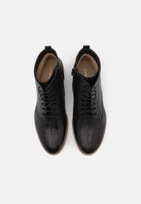 Anna Field - LEATHER - Kotníková obuv - black - 5