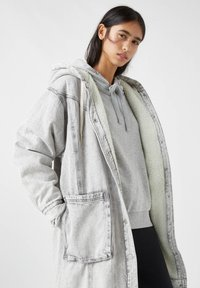 PULL&BEAR - Winter coat - mottled grey - 4
