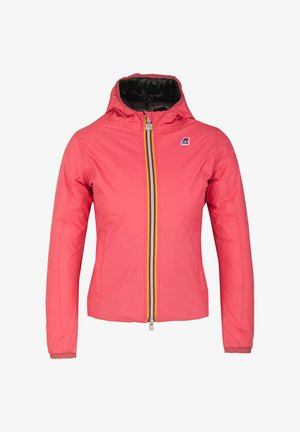 THERMO PLUS. 2 DOUBLE - Down jacket - red claret-black pure