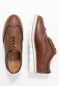 Anna Field Wide Fit - Zapatos de vestir - cognac - 3