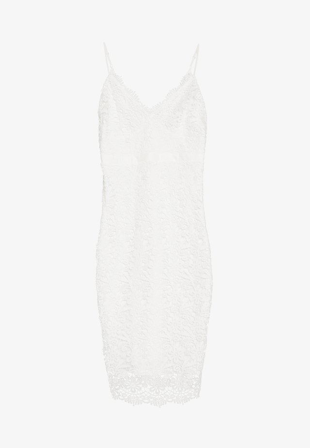 BODYCON DRESS - Sukienka etui - white
