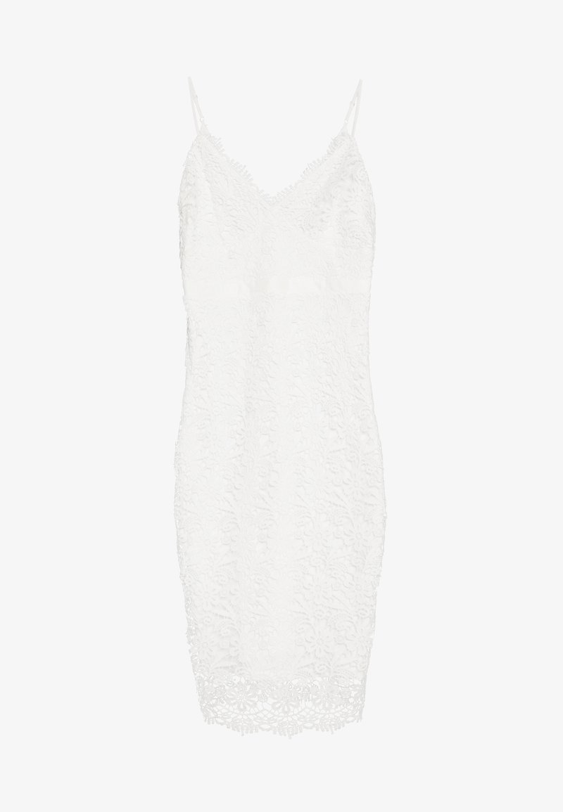 Nly by Nelly - BODYCON DRESS - Etuikjole - white