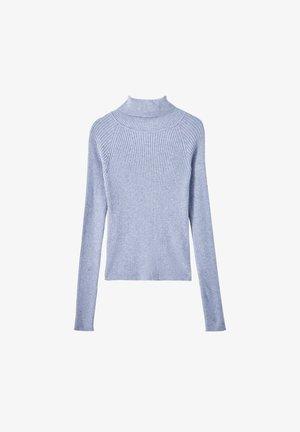 Svetr - mottled blue
