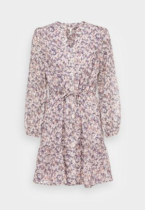 DRESS BUTTONS LILAC FLORAL - Day dress - multi coloured