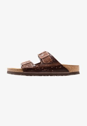 ARIZONA  - Slippers - hailstorm brown/silver
