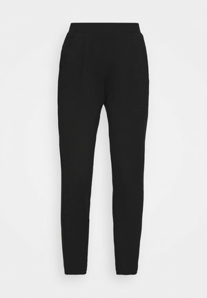 PLAIN TAP - Trousers - black