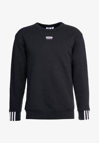 adidas Originals - R.Y.V. CREW LONG SLEEVE PULLOVER - Bluza - black - 5