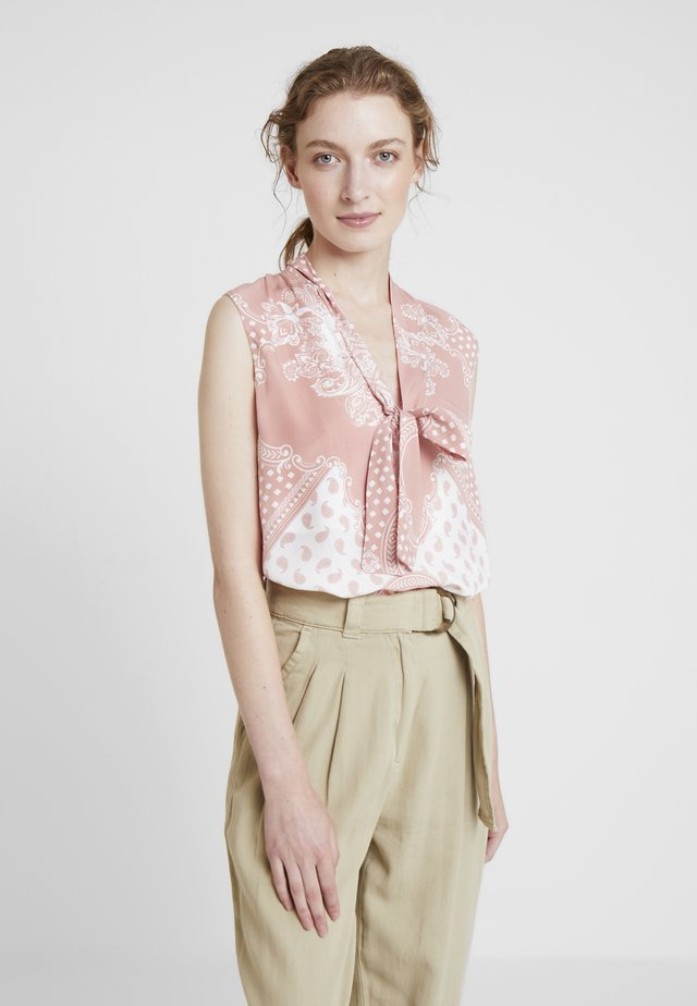 BLUSA TECIDO  BALI - Blouse - light pink