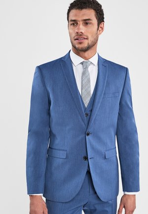 STRETCH TONIC SUIT: JACKET-SLIM FIT - Suit jacket - royal blue
