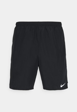 CHALLENGER SHORT  - Sports shorts - black/reflective silver
