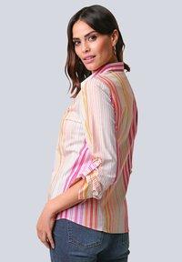 Alba Moda - Button-down blouse - orange/pink/sand - 2