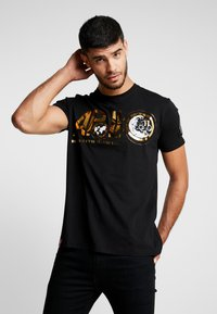 Alpha Industries - ANNIVERSARY CAPSULE - T-shirt print - black - 0