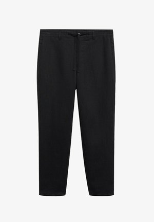 RELAXED FIT - Pantaloni - schwarz