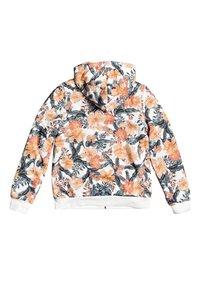 Roxy - SAY LOVE  MIT REISSVERSCHLUSS  - Zip-up hoodie - snow white mahe rg - 1
