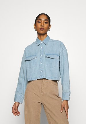 LMC RELAXED SHIRT - Skjortebluser - ocean spray