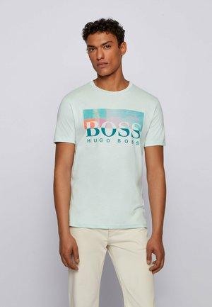 TEALLY - Print T-shirt - mint