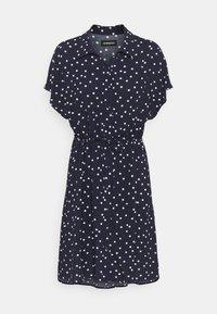 Even&Odd Tall - Vestido camisero - dark blue/white - 0