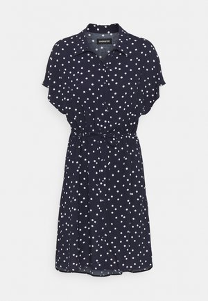Shirt dress - dark blue/white