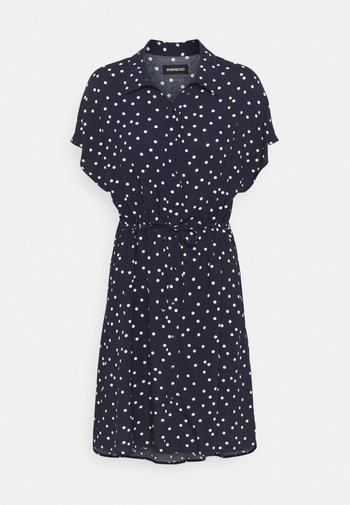 Shirt dress - dark blue/white