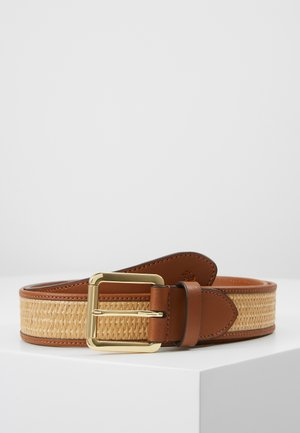 RAFFIA ROLLER - Waist belt - natural