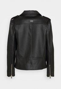 Deadwood - RIVER CACTUS  - Faux leather jacket - black - 1