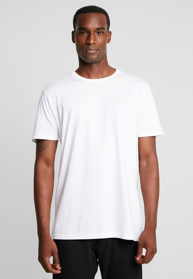 ROCK  - T-shirt - bas - white