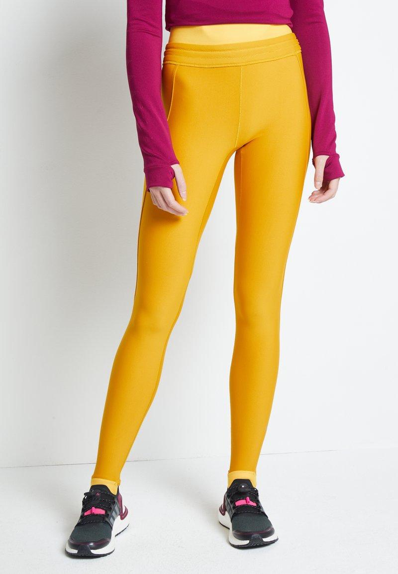 adidas Performance - ASK - Leggings - dark yellow