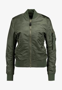 Alpha Industries - Bomber Jacket - sage green/gold - 5