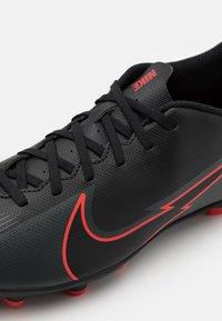 Nike Performance - MERCURIAL VAPOR 13 CLUB FG/MG - Moulded stud football boots - black/dark smoke grey - 5