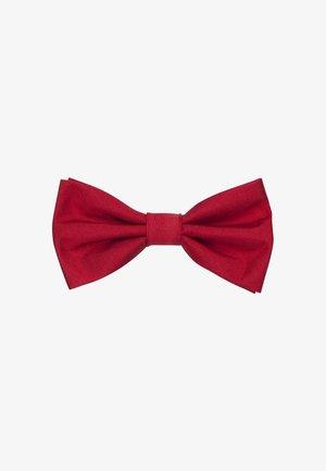 SCHWARZE ROSE - Vlinderdas - red