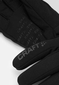 Craft - CORE INSULATE GLOVE - Guantes - black - 2