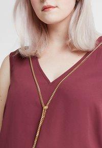 Anna Field Curvy - Blouse - burgundy - 5