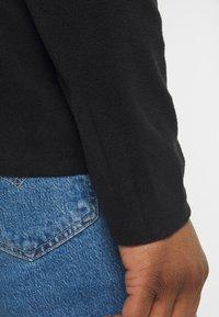 Brave Soul - THERMAL - Fleece jumper - black/slate grey - 5
