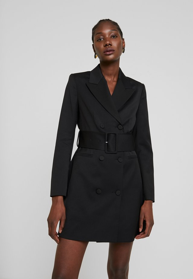 WITH BELT - Sukienka letnia - black