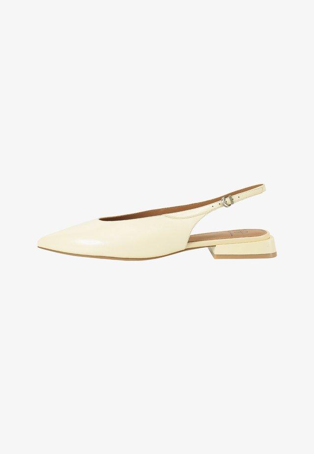 Slingback ballet pumps - sorbet
