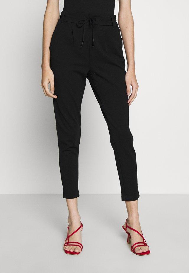 ONLPOPTRASH EASY COLOUR PANT - Trousers - black