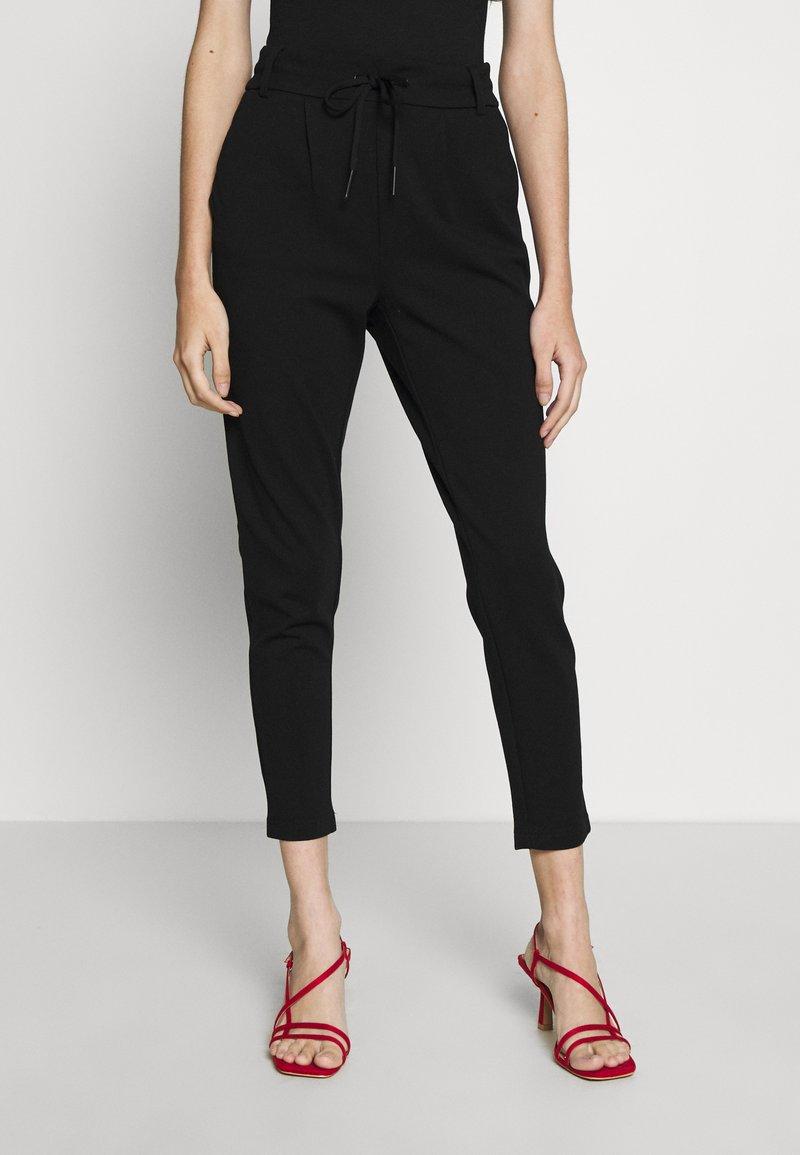 ONLY Petite - ONLPOPTRASH EASY COLOUR PANT - Trousers - black