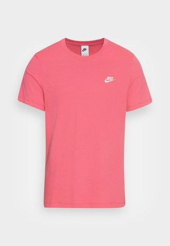 CLUB TEE - T-shirt basic - archaeo pink