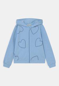 OVS - KID FULL ZIP WITH HOOD 2 PACK - Zip-up sweatshirt - ballad blue/morning glory - 2