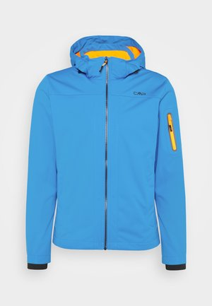 MAN ZIP HOOD JACKET - Giacca softshell - regata