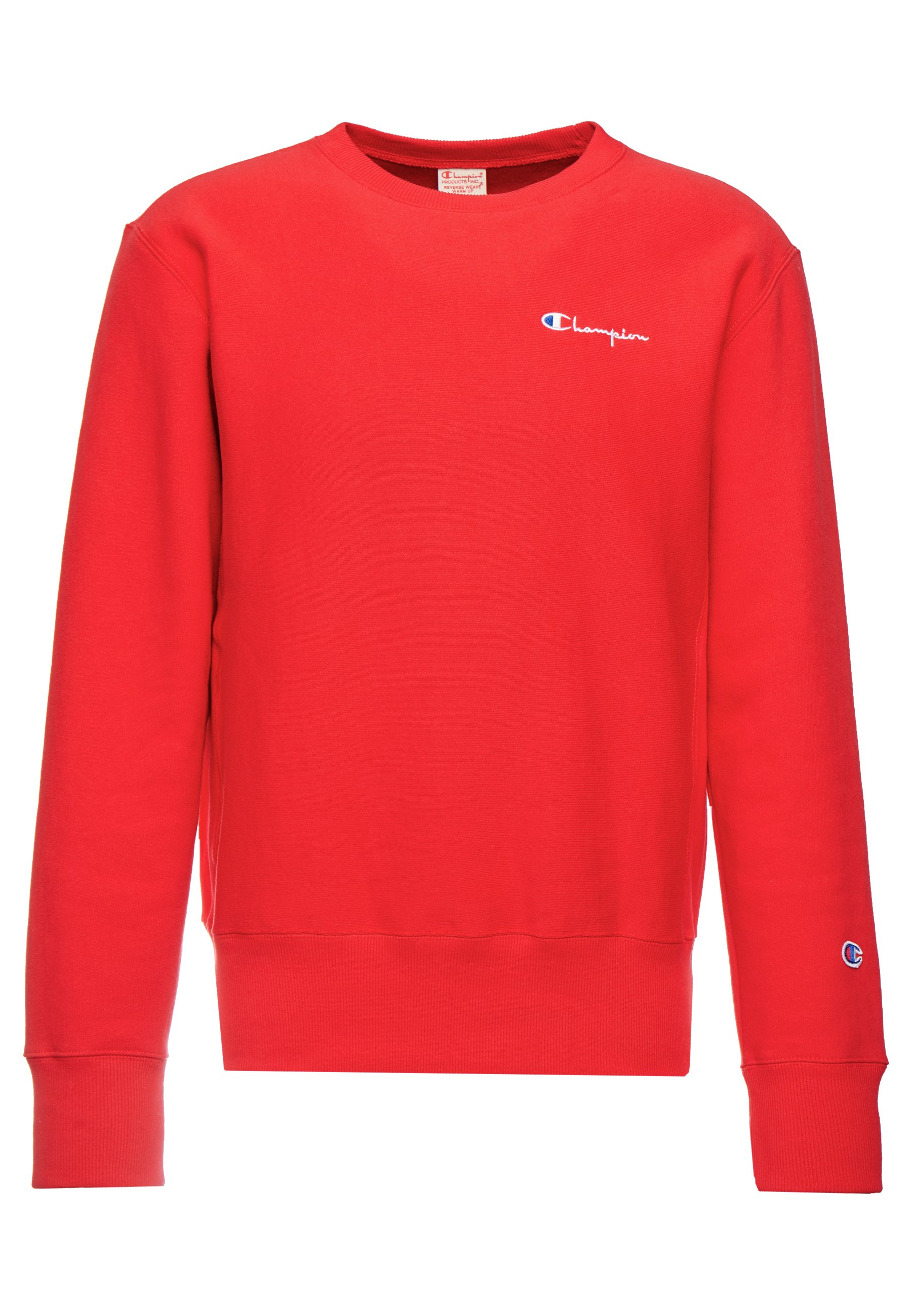 SMALL SCRIPT CREWNECK Sweatshirt red