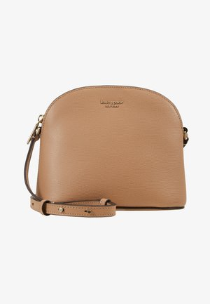 SYLVIA MEDIUM DOME CROSSBODY - Torba na ramię - light fawn