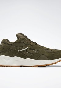 Reebok Classic - AZTREK 93 SHOES - Sneakers - green - 8