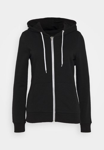 Regular Fit Zip Sweat Jacket Contrast Cord